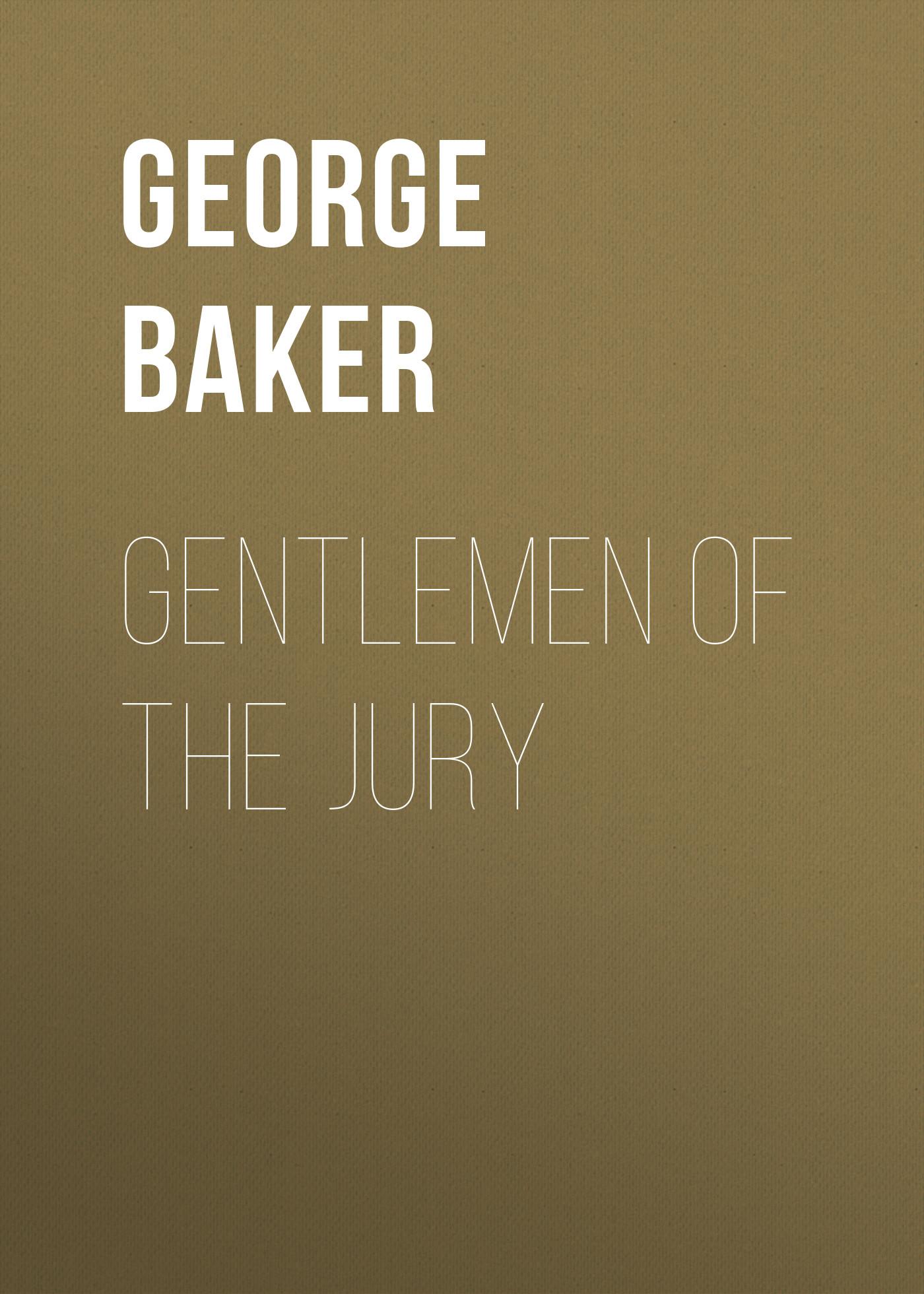 Gentlemen of the Jury