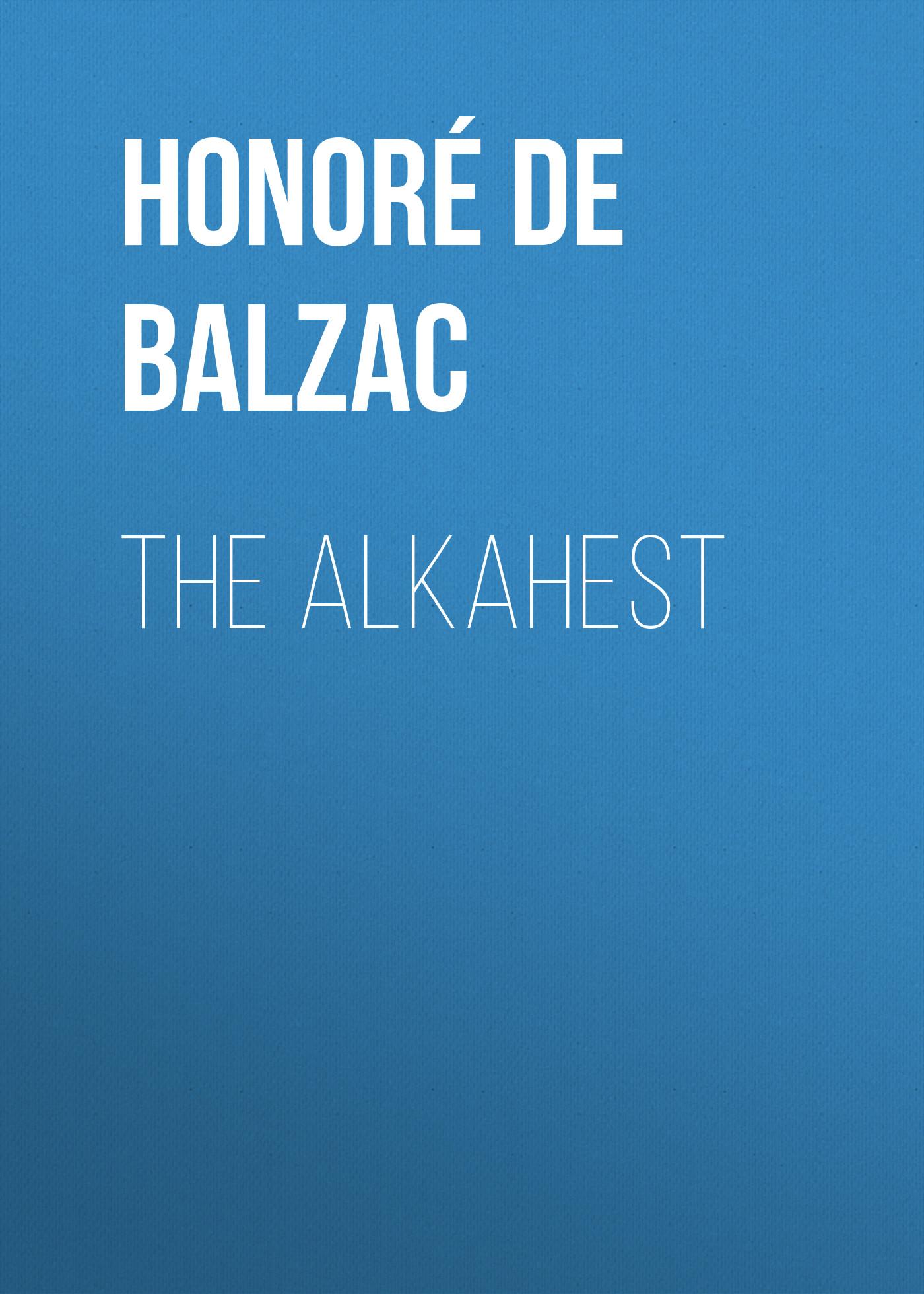The Alkahest