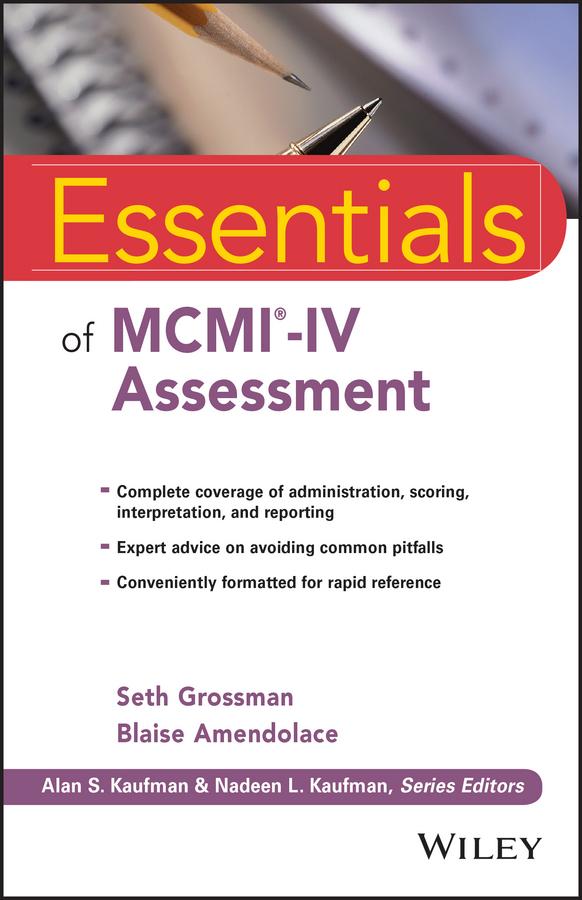 Essentials of MCMI-IV Assessment