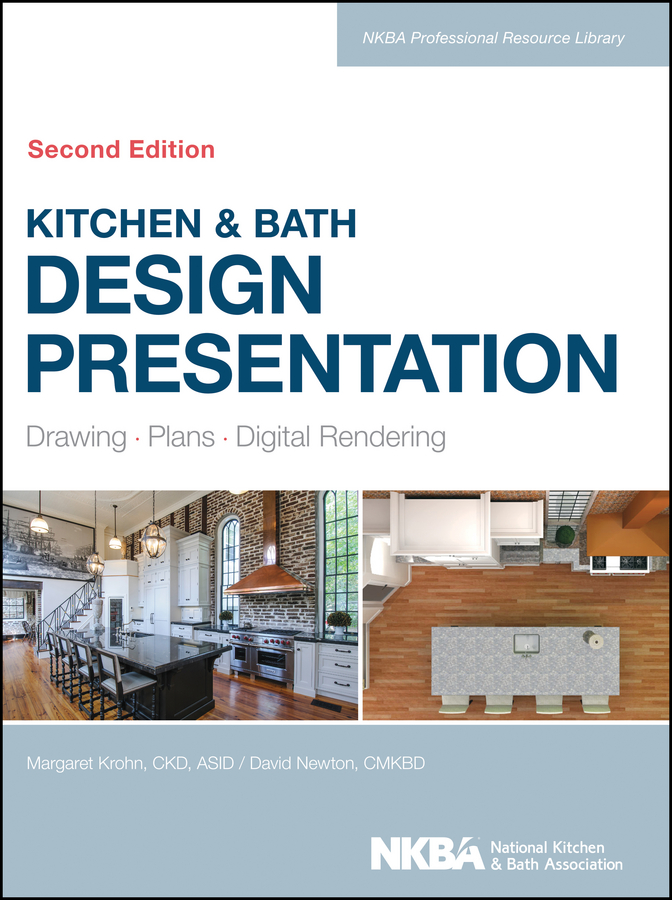 Kitchen&Bath Design Presentation. Drawing, Plans, Digital Rendering