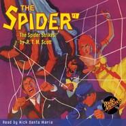 The Spider Strikes - The Spider 1 (Unabridged)