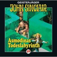 John Sinclair, Folge 58: Asmodinas Todeslabyrinth