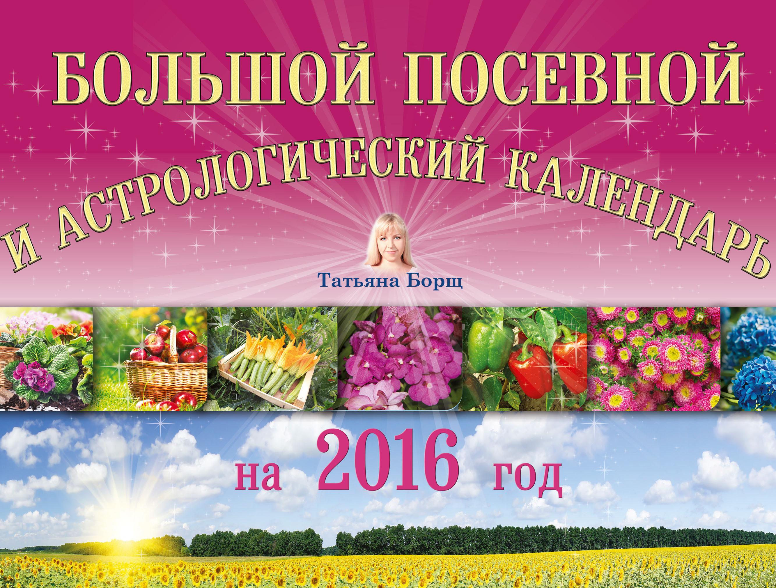 Татьяна Борщ Большой посевной и астрологический календарь на 2016 год цена