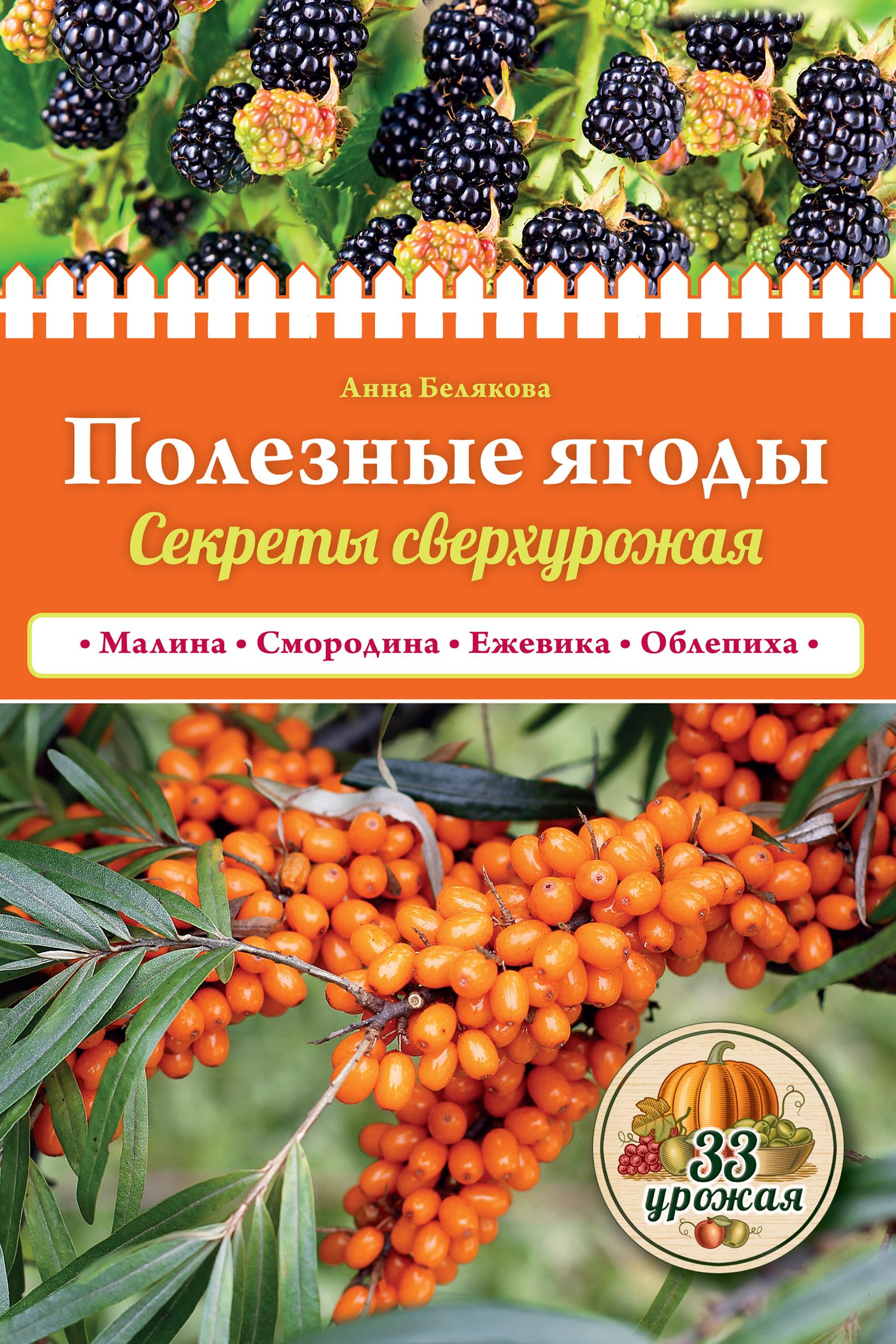 Анна Белякова Полезные ягоды. Секреты сверхурожая мовсесян л выращиваем ягодные кустарники