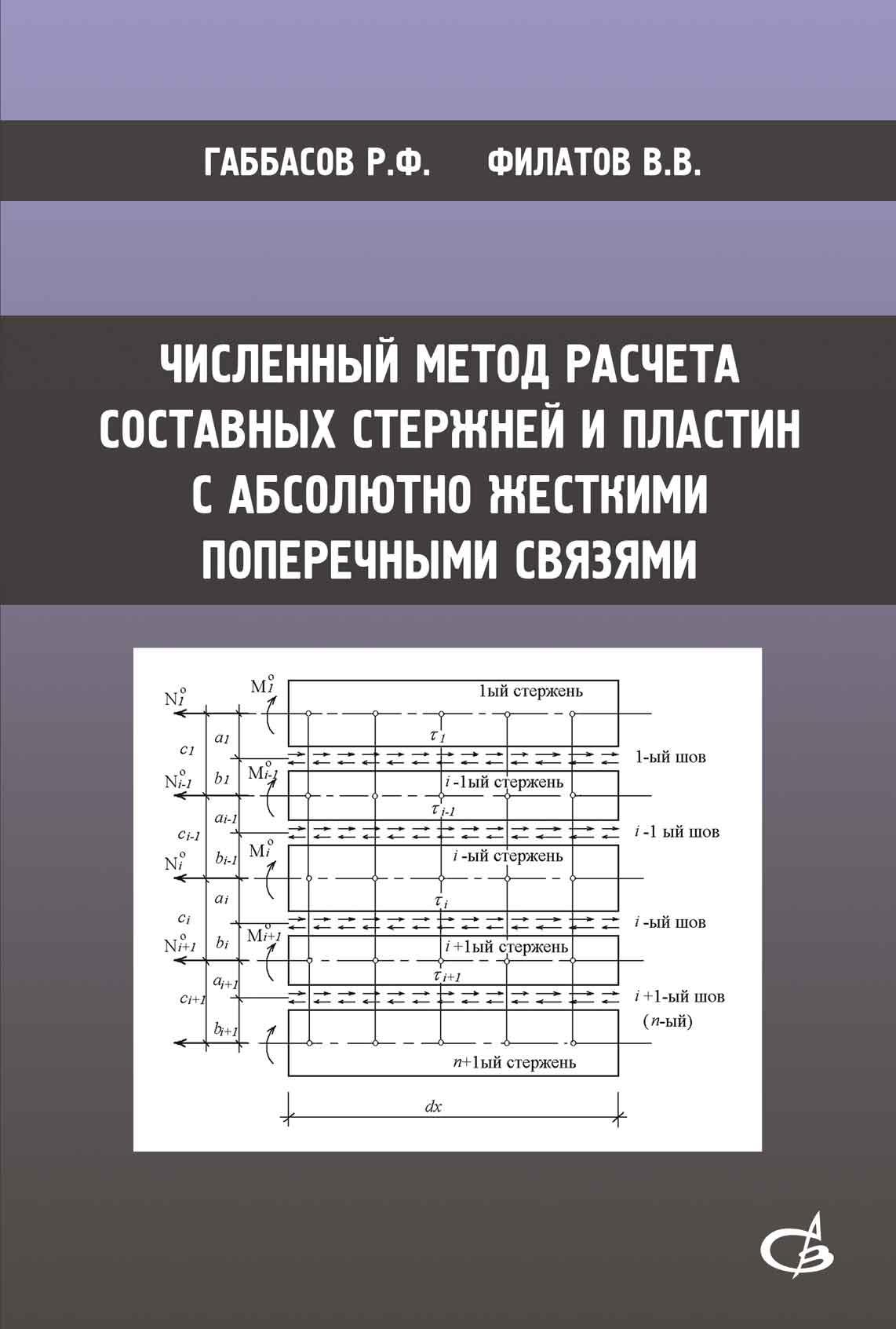 Р. Ф. Габбасов Численный метод расчета составных стержней и пластин с абсолютно жесткими поперечными связями