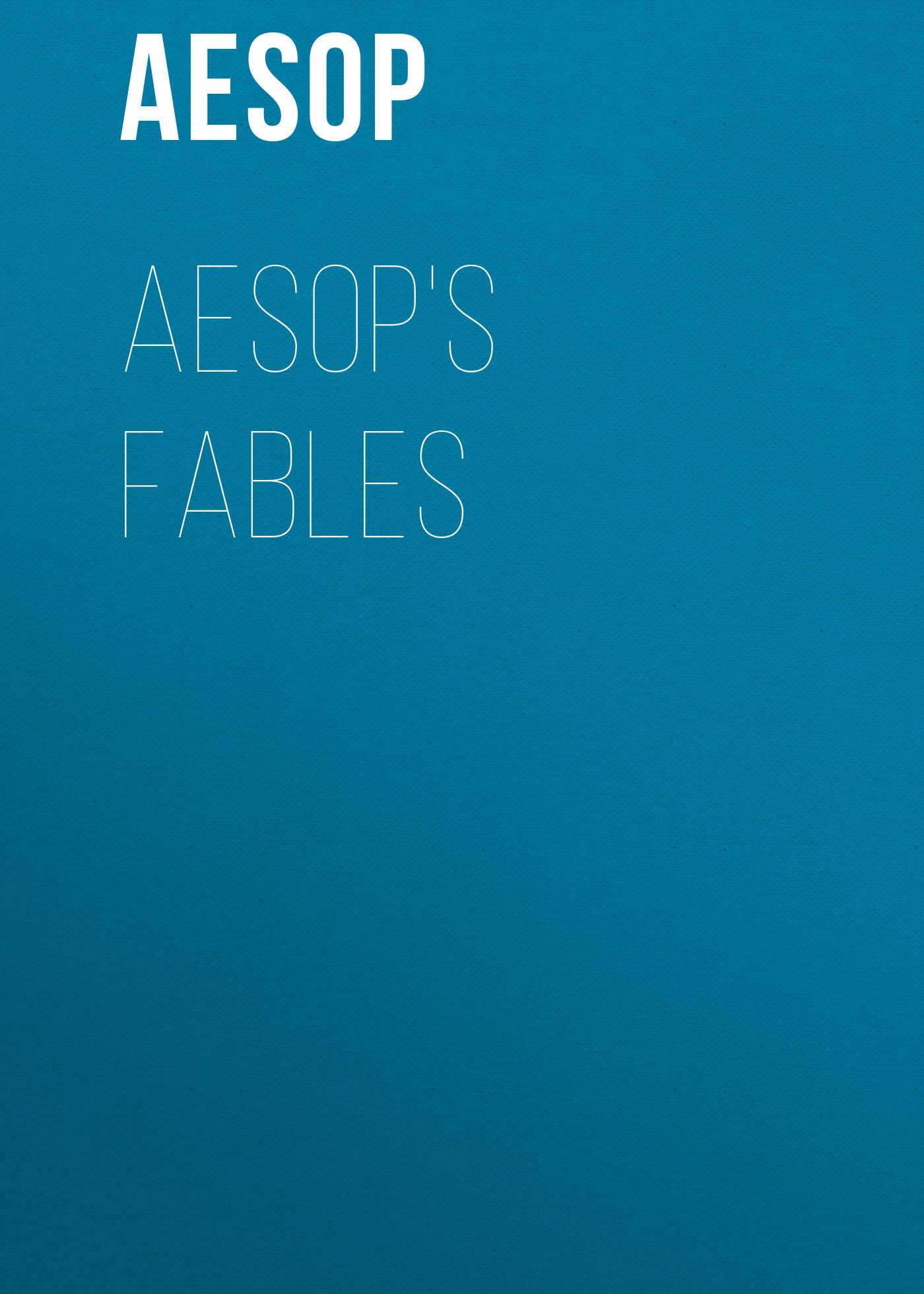 Aesop Aesop's Fables john gay fables