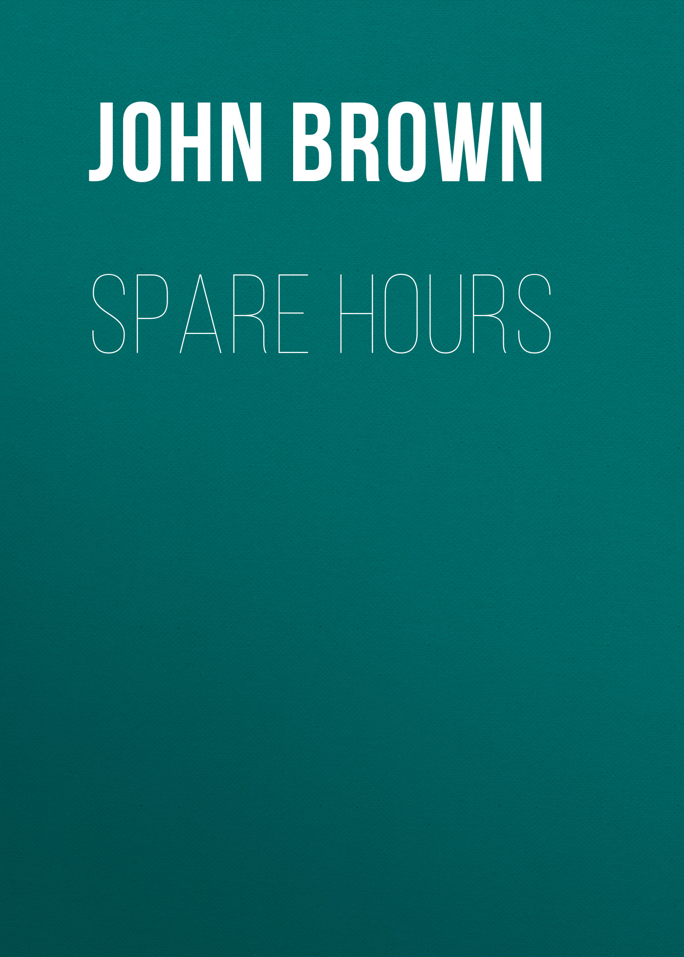 Brown John Spare Hours