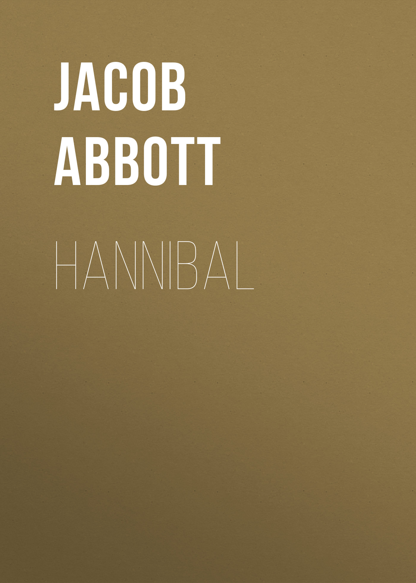Abbott Jacob Hannibal