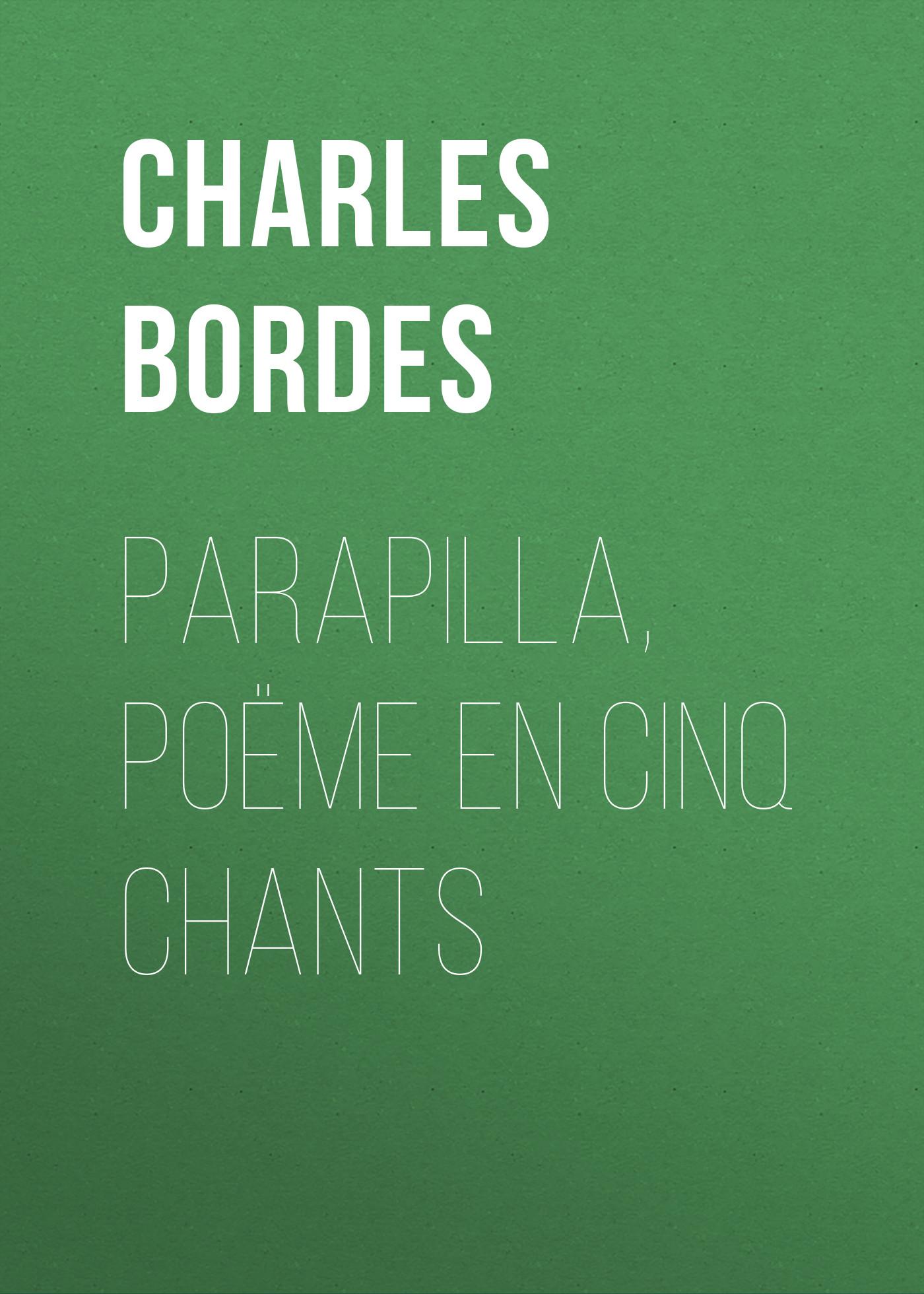 Charles Bordes Parapilla, poëme en cinq chants gregorian christmas chants