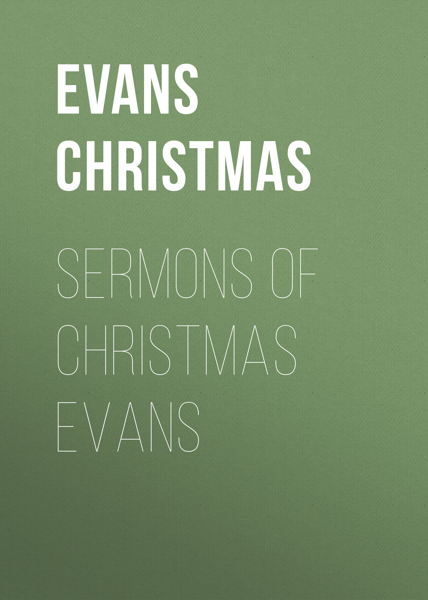 Evans Christmas Sermons of Christmas Evans адаптер питания apple 60w magsafe2 md565