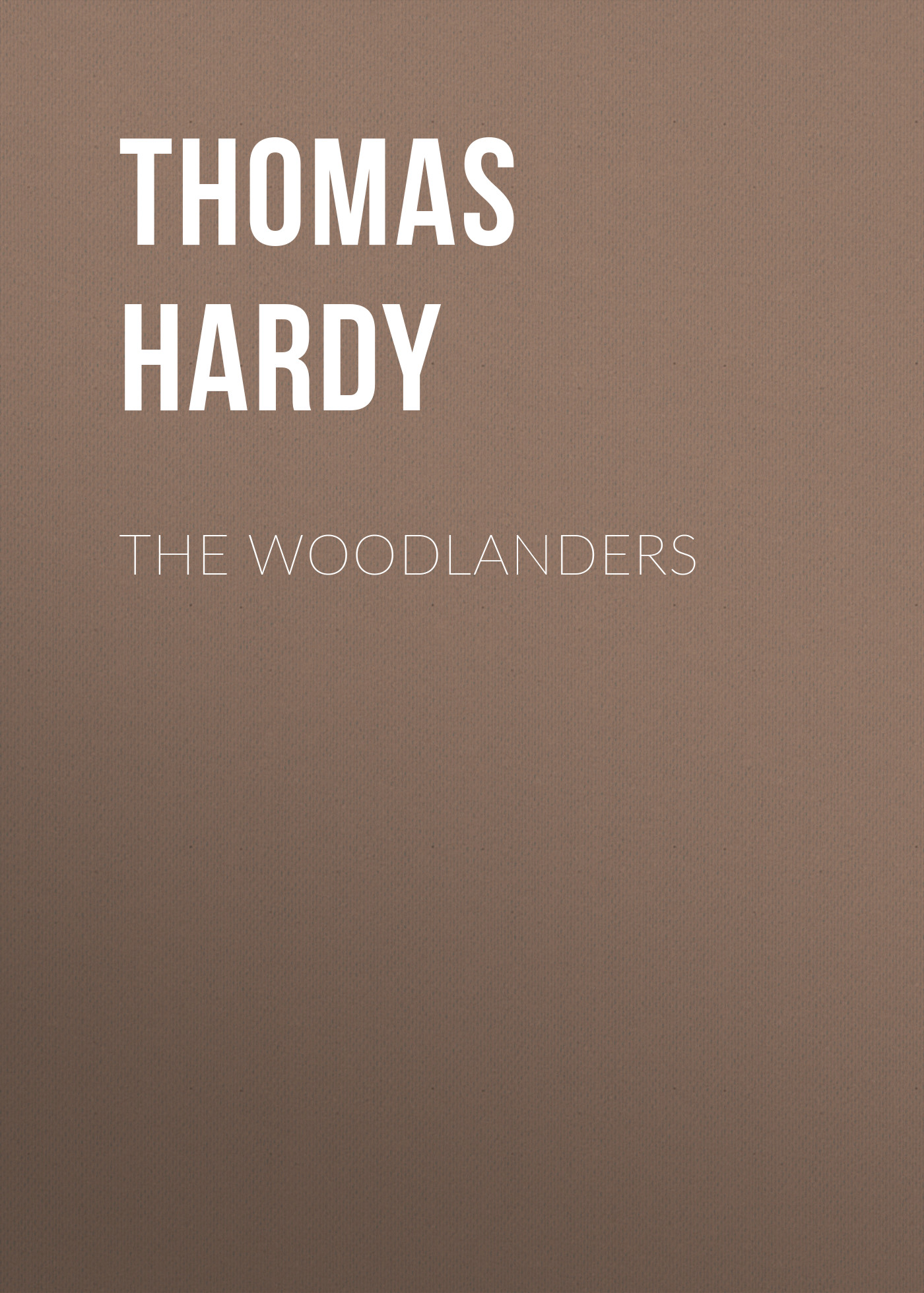 Thomas Hardy The Woodlanders cafe del mar xix volumen diecinueve 2 cd