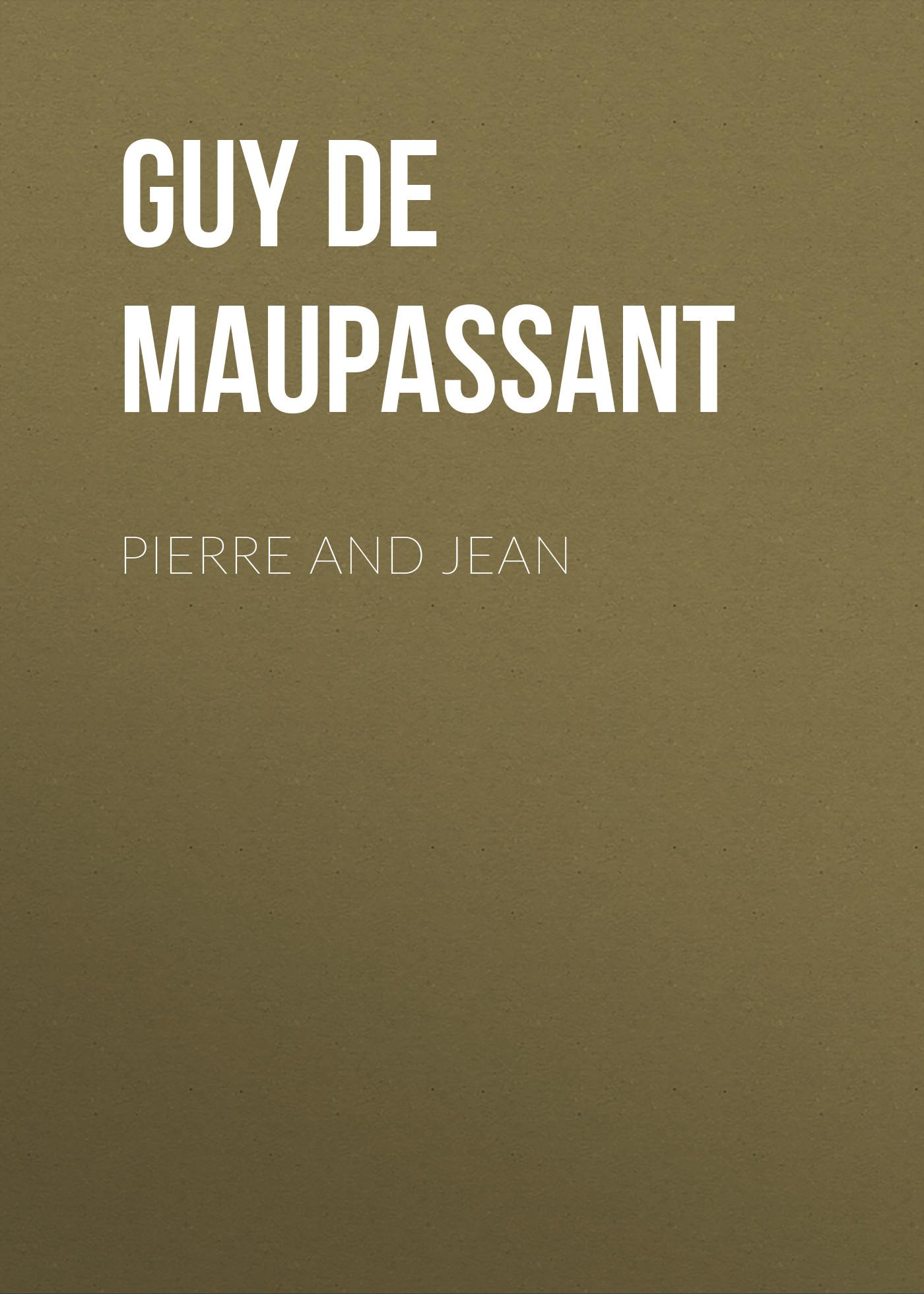 лучшая цена Ги де Мопассан Pierre and Jean