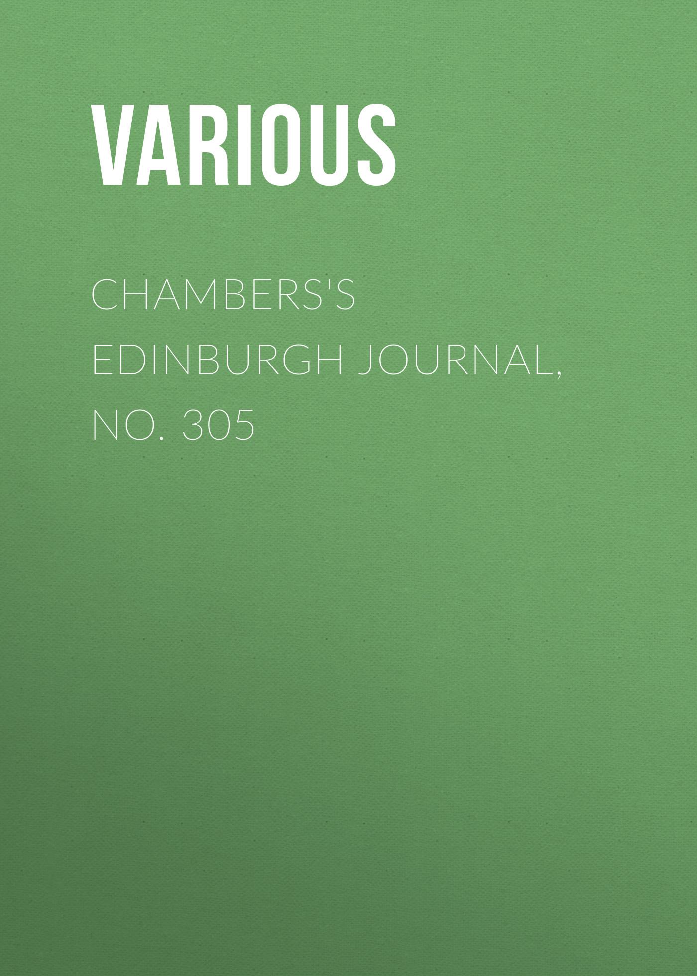 Various Chambers's Edinburgh Journal, No. 305 lau edinburgh
