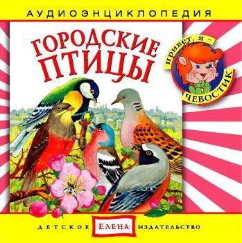 Детское издательство Елена Городские птицы ласточка