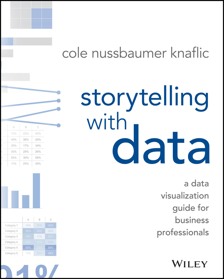 Cole Knaflic Nussbaumer Storytelling with Data. A Data Visualization Guide for Business Professionals silvia tony power performance multimedia storytelling for journalism and public relations