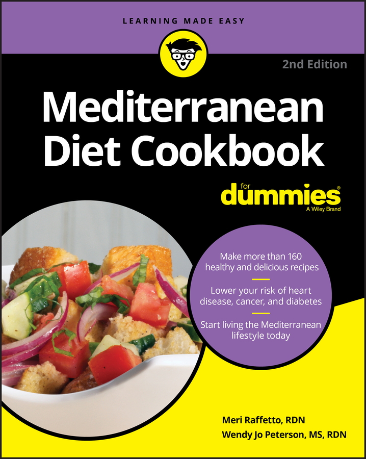 Meri Raffetto Mediterranean Diet Cookbook For Dummies the real you diet