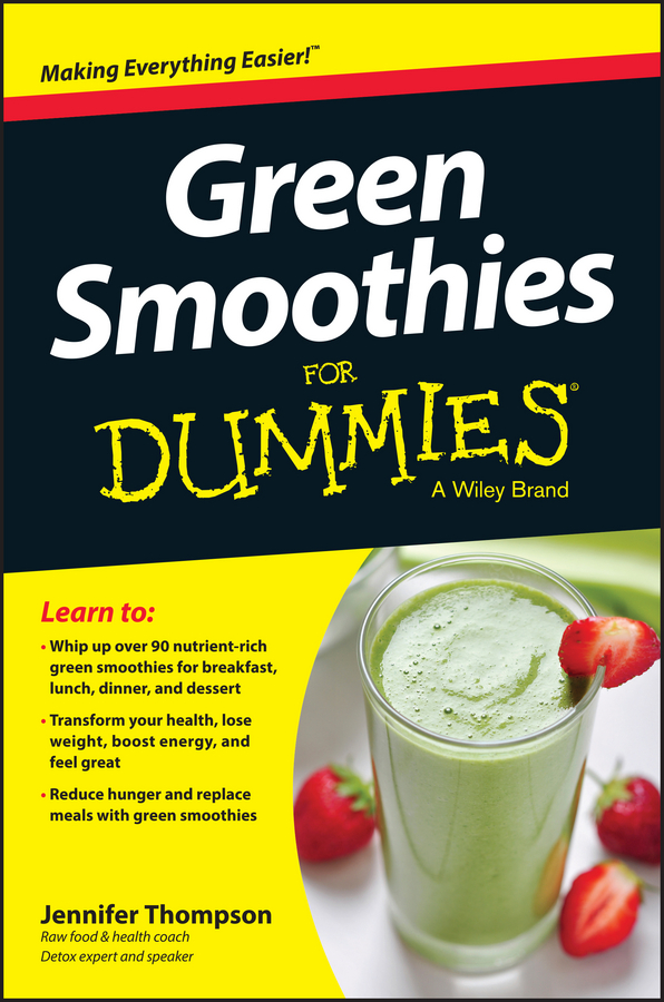 Jennifer Thompson Green Smoothies For Dummies to your taste auto accessories черный деловая одежда