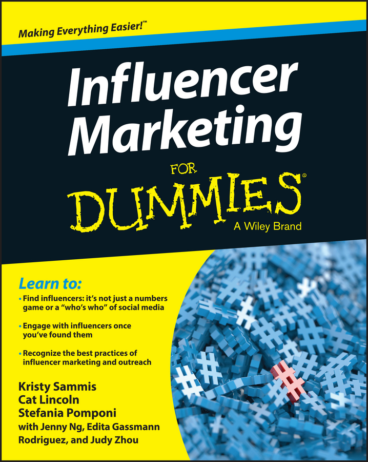Jenny Ng Influencer Marketing For Dummies jesse stay google marketing for dummies