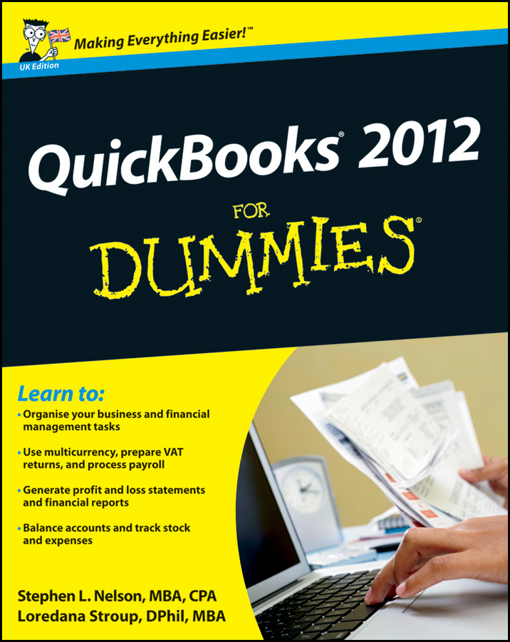 Loredana Stroup QuickBooks 2012 For Dummies
