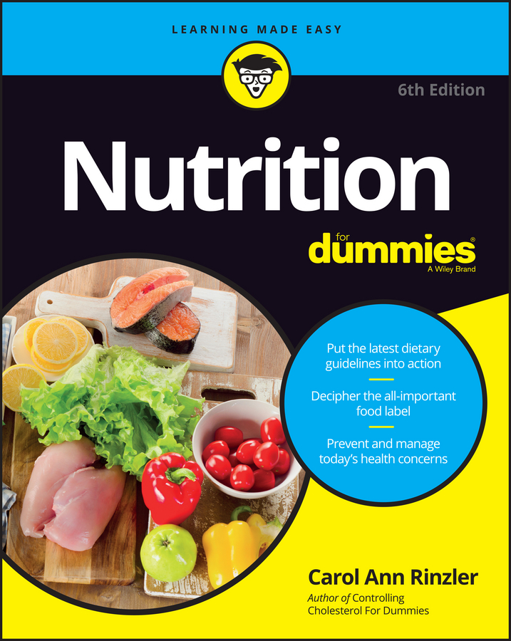 Carol Rinzler Ann Nutrition For Dummies carol rinzler ann controlling cholesterol for dummies isbn 9780470395387