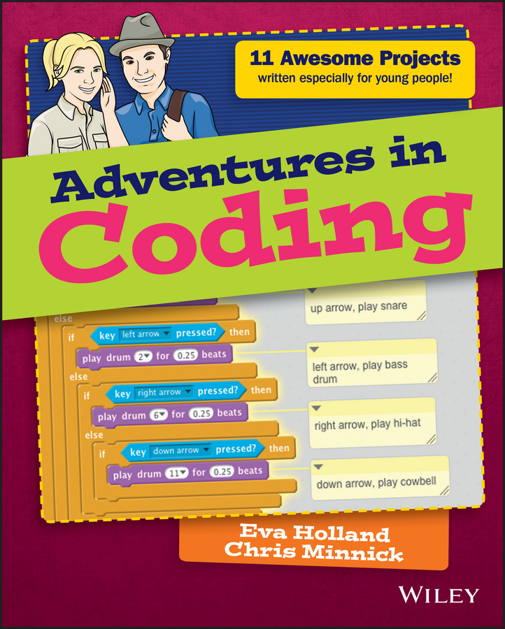 Chris Minnick Adventures in Coding camille mccue getting started with coding get creative with code
