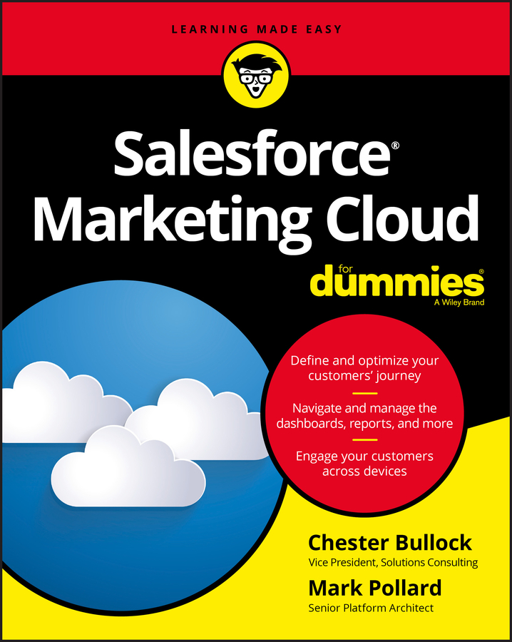 Mark Pollard Salesforce Marketing Cloud For Dummies jesse stay google marketing for dummies