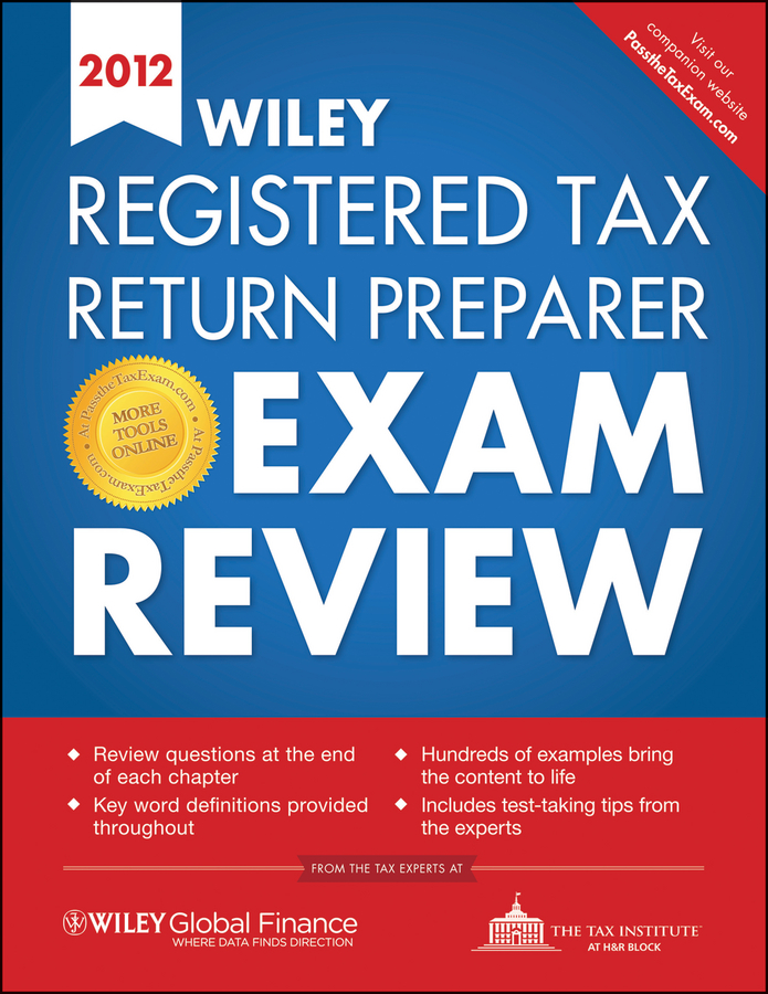Отсутствует Wiley Registered Tax Return Preparer Exam Review 2012 wiley finra series 57 exam review 2017