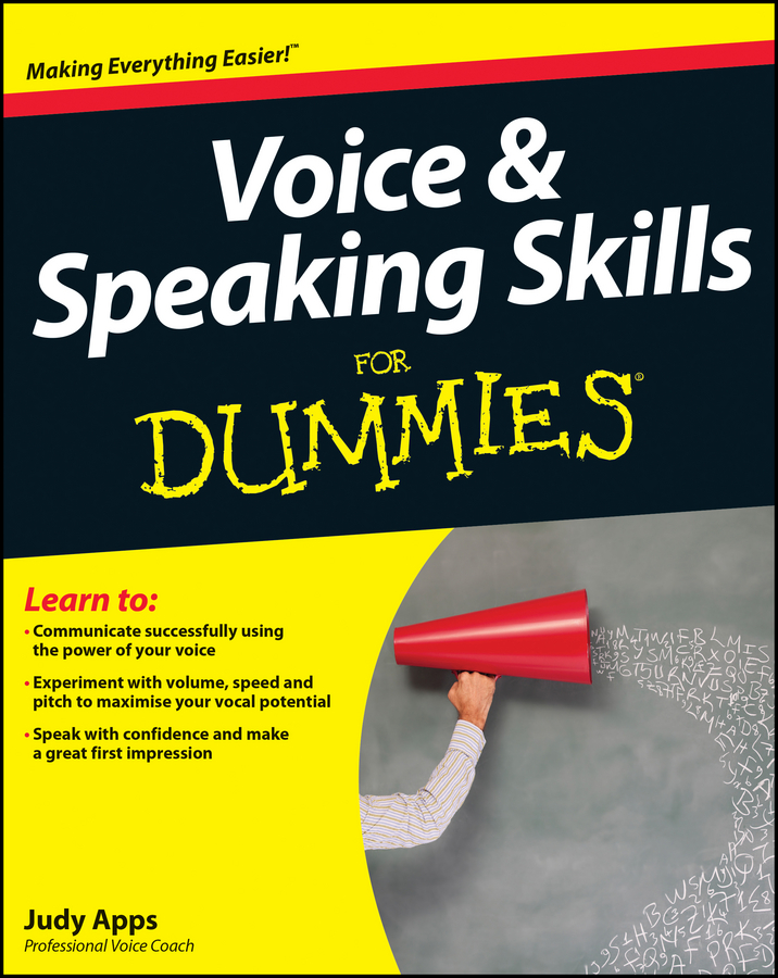 Judy Apps Voice and Speaking Skills For Dummies david ciccarelli voice acting for dummies