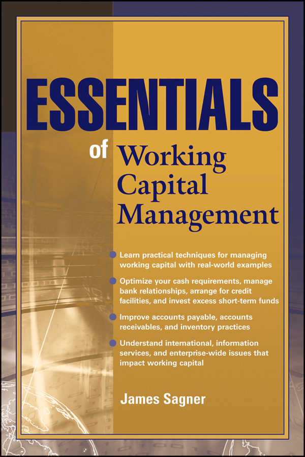 James Sagner Essentials of Working Capital Management british banking
