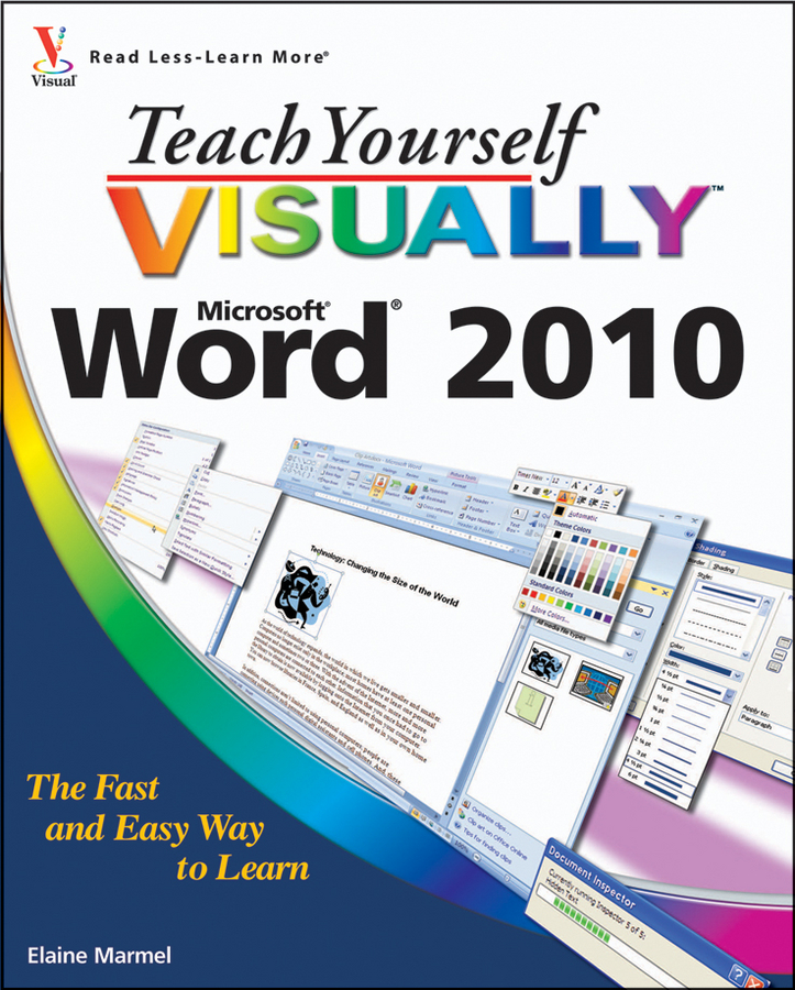 Elaine Marmel Teach Yourself VISUALLY Word 2010 elaine marmel teach yourself visually pcs