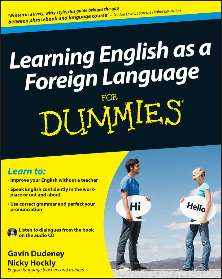 Gavin Dudeney Learning English as a Foreign Language For Dummies basic english iv