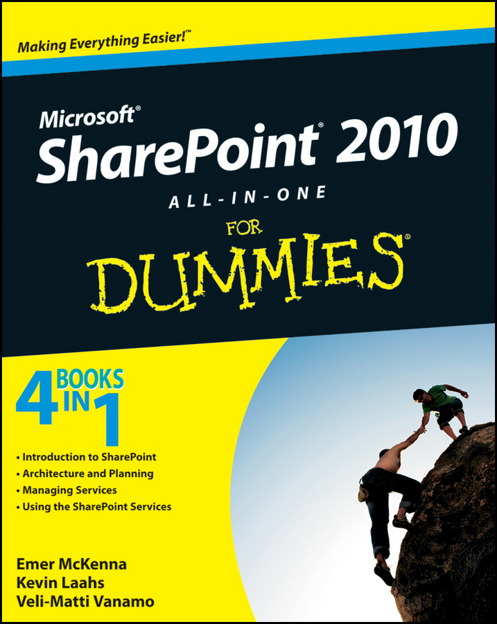 Kevin Laahs SharePoint 2010 All-in-One For Dummies kenneth schaefer professional sharepoint 2010 development
