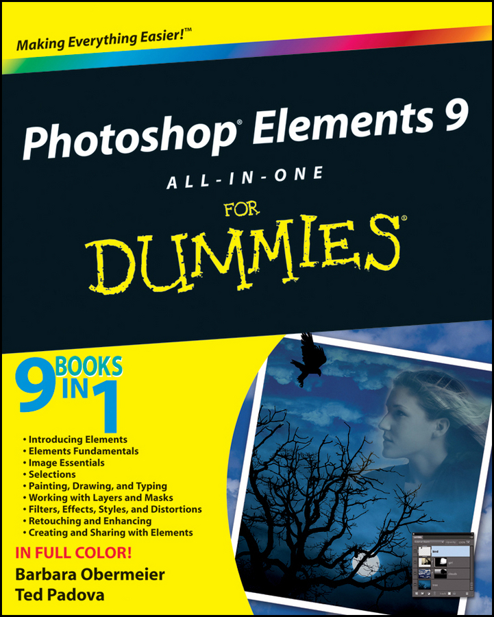Barbara Obermeier Photoshop Elements 9 All-in-One For Dummies how to cheat in photoshop elements 9 discover the magic of adobe s best kept secret
