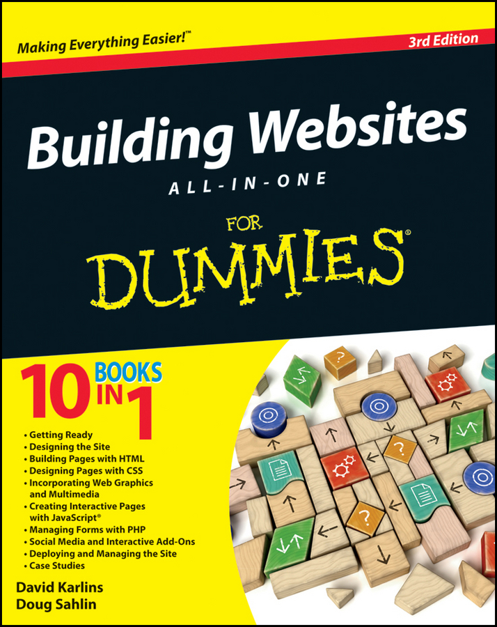 Doug Sahlin Building Websites All-in-One For Dummies christopher smith adobe creative suite 2 all in one desk reference for dummies