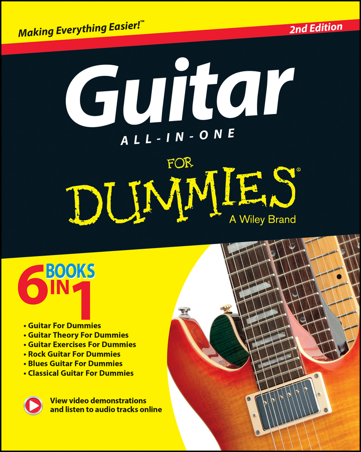 Jon Chappell Guitar All-In-One For Dummies pilhofer michael day holly music theory for dummies