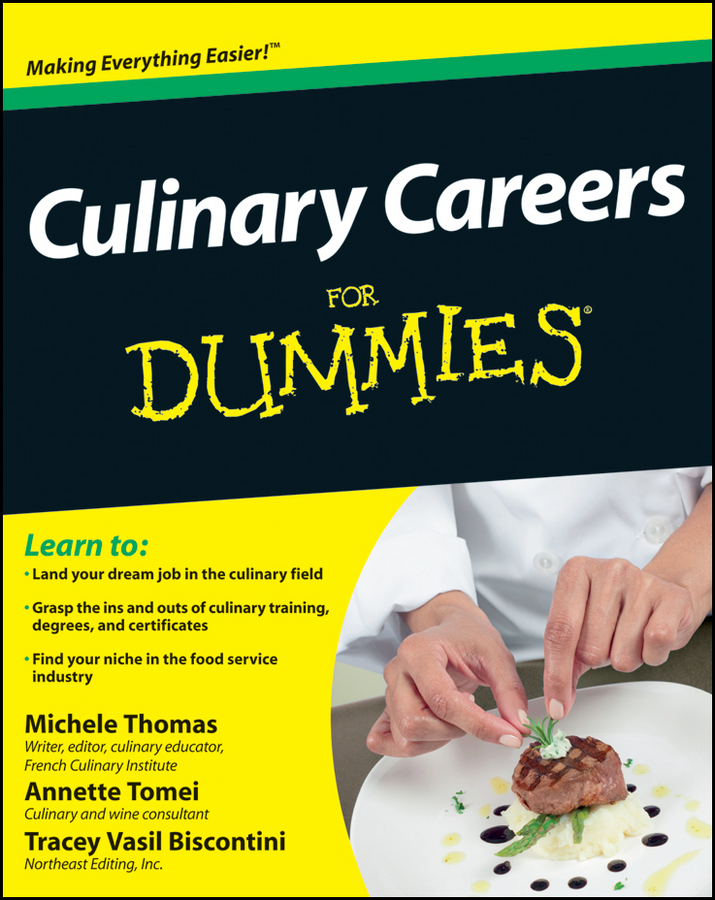 Tracey Biscontini Culinary Careers For Dummies цена
