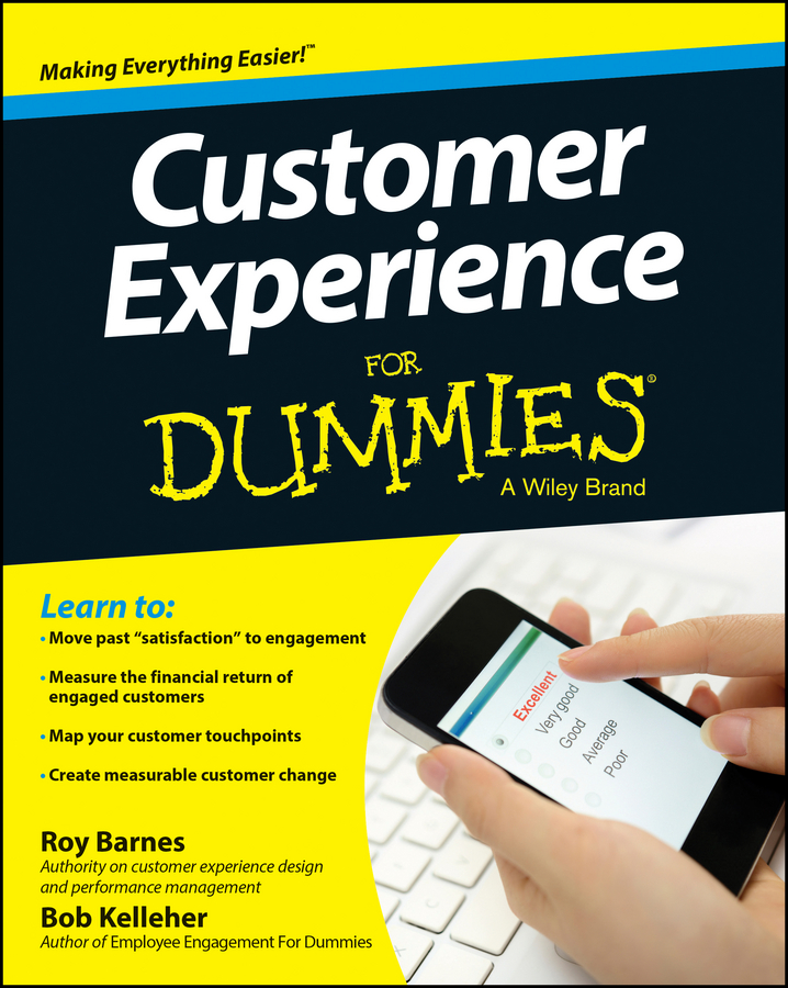 Bob Kelleher Customer Experience For Dummies strategy to customer loyalty building csr