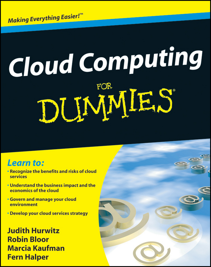 Robin Bloor Cloud Computing For Dummies rainbow in the cloud