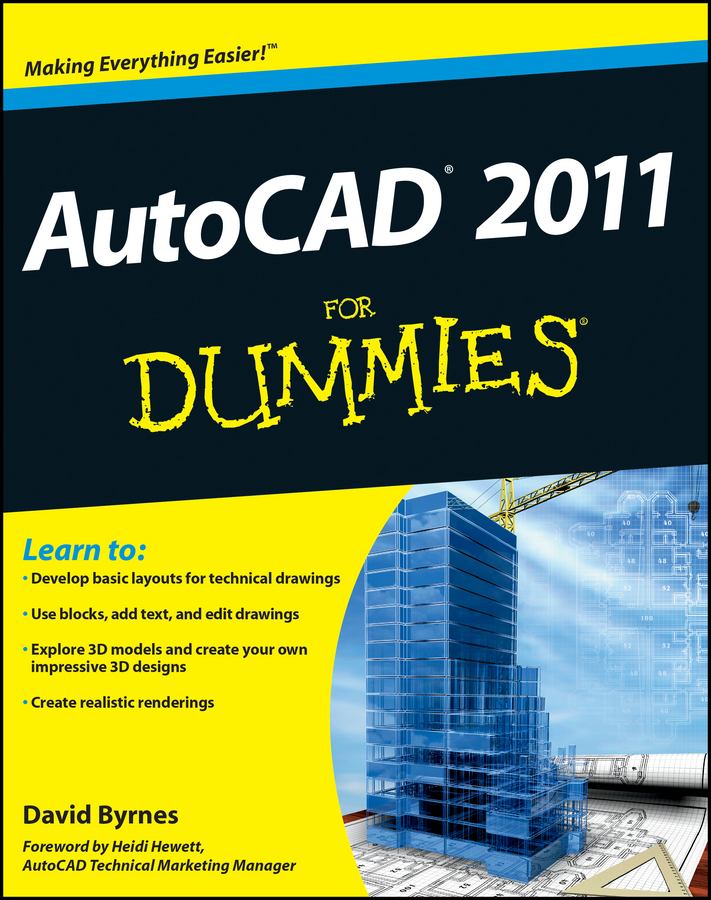 David Byrnes AutoCAD 2011 For Dummies david byrnes autocad 2007 for dummies