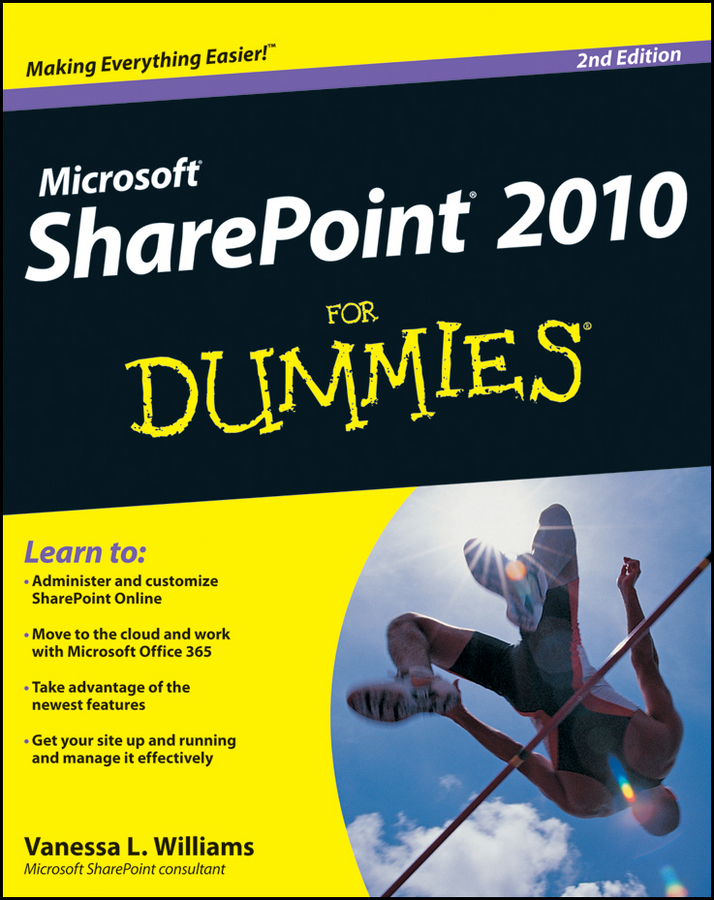 Vanessa Williams L. SharePoint 2010 For Dummies kenneth schaefer professional sharepoint 2010 development