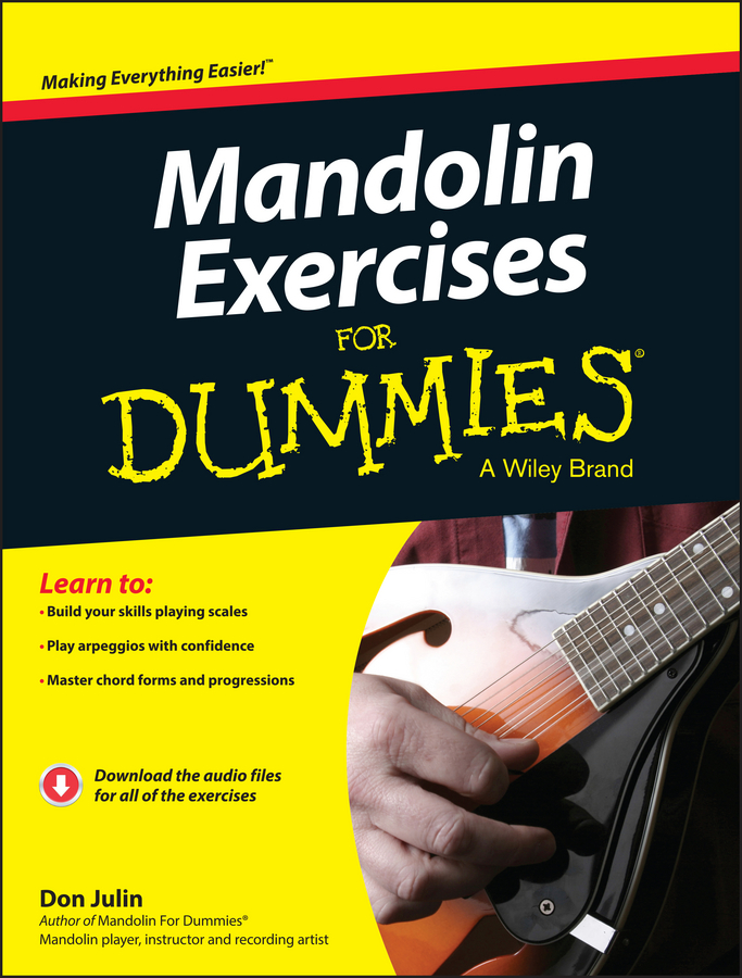 Фото - Don Julin Mandolin Exercises For Dummies gre for dummies with online practice tests