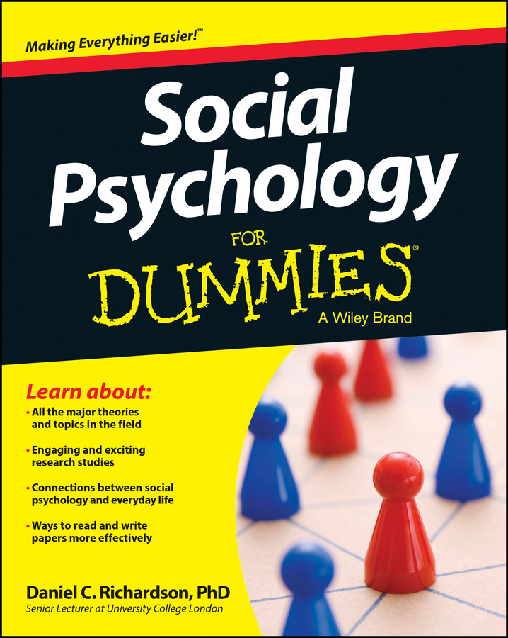 Daniel Richardson Social Psychology For Dummies psychology