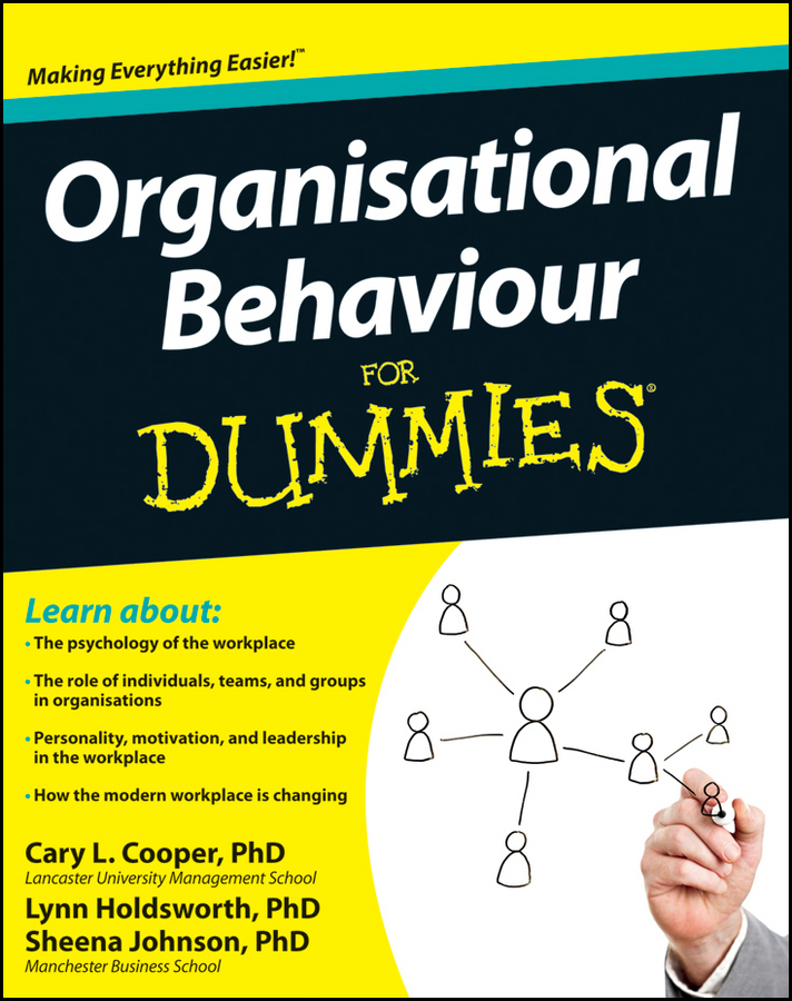 Sheena Johnson Organisational Behaviour For Dummies купить недорого в Москве