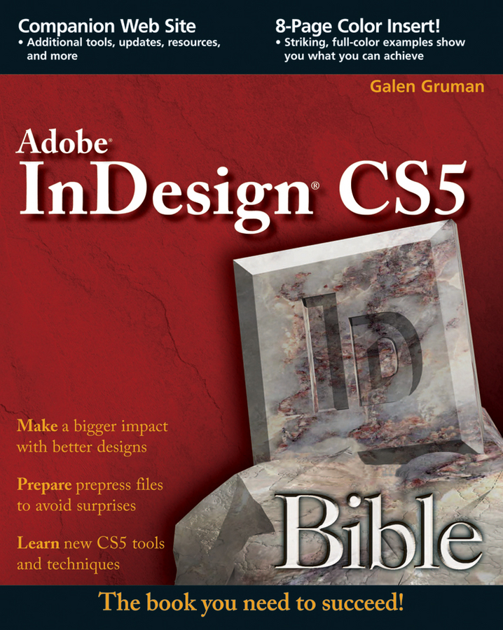 Galen Gruman InDesign CS5 Bible galen gruman indesign cs5 bible