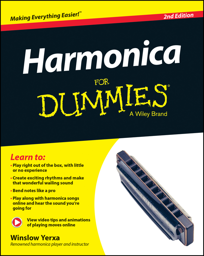 Winslow Yerxa Harmonica For Dummies mini harmonica necklace silver brown