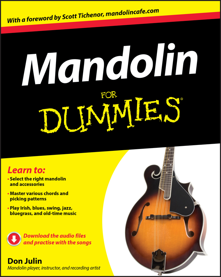 Don Julin Mandolin For Dummies вячеслав круглов antonio vivaldi johann hummel mandolin concertos