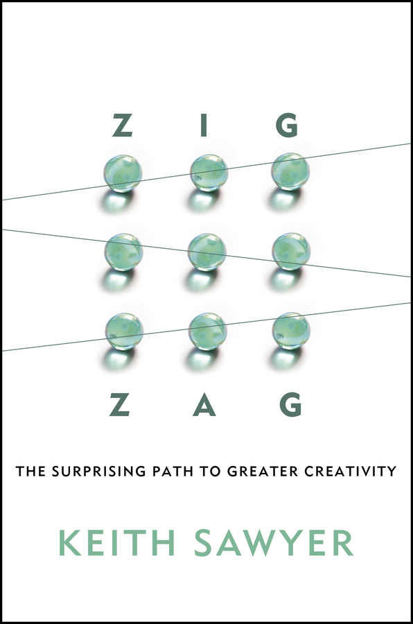 Keith Sawyer Zig Zag. The Surprising Path to Greater Creativity creative woven fruit and vegetable basket