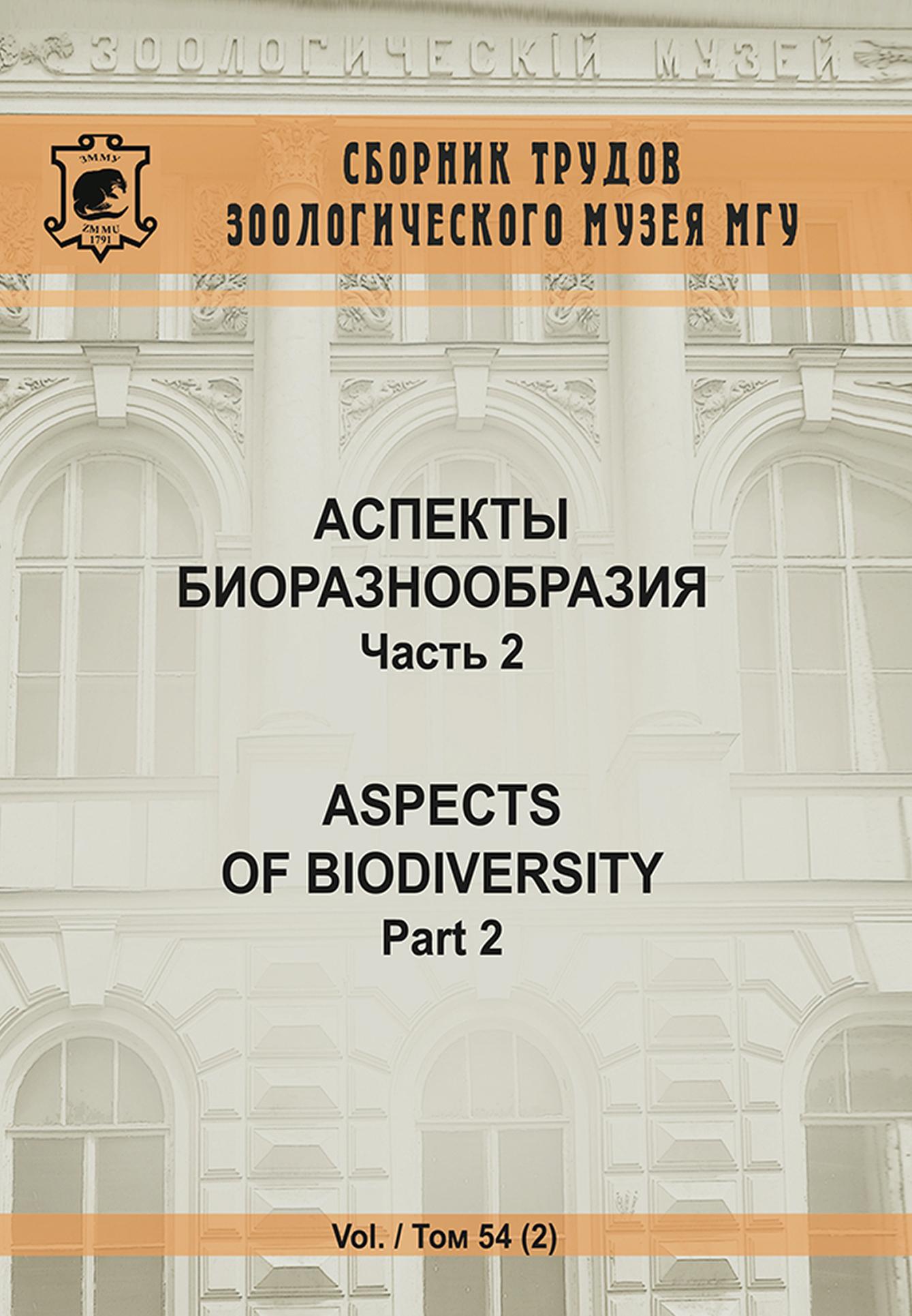 Коллектив авторов Аспекты биоразнообразия. Часть 2 отсутствует дело москательщиков бр александра и ивана поповых