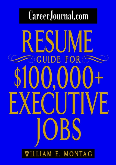 William Montag E. CareerJournal.com Resume Guide for $100,000 + Executive Jobs professional deep search metal detector goldfinder underground gold high sensitivity and lcd display metal detector finder