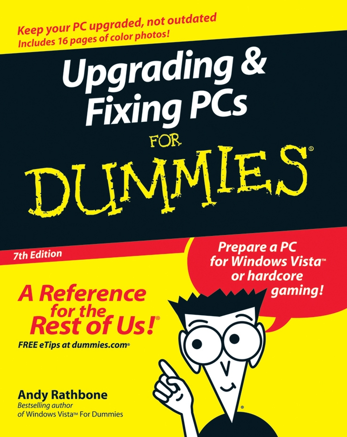 Andy Rathbone Upgrading and Fixing PCs For Dummies gasky usb wired game controller gamepad gaming joypad joystick control for xp windows pc computer laptop black freeshipping